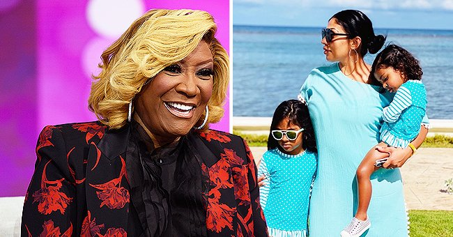 Patti LaBelle's Granddaughters Gia and Leyla Adorably Pose in Matching Blue Swimsuits in New Photos with Mom