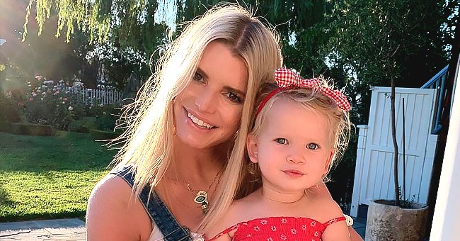 Jessica Simpson Reveals Her 17-Month-Old Daughter Birdie Said Her First Word