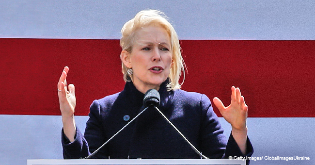 Kirsten Gillibrand Joins Presidential Run, Calls Trump a 'Coward' in a Speech Outside His Hotel