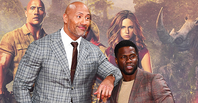 Dwayne Johnson of 'Jumanji' Reveals He's Going to Visit Kevin Hart before Giving an Update on His Health