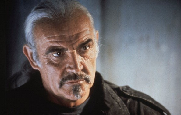 """Sean Connery in """"Highlander II: The Quickening"""" by Russell Mulcahy avec Sean Connery, 1991. 