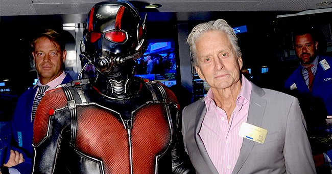 Michael Douglas Jokes about Growing a Goatee Ahead of His Return as Hank Pym on 'Ant-Man 3'