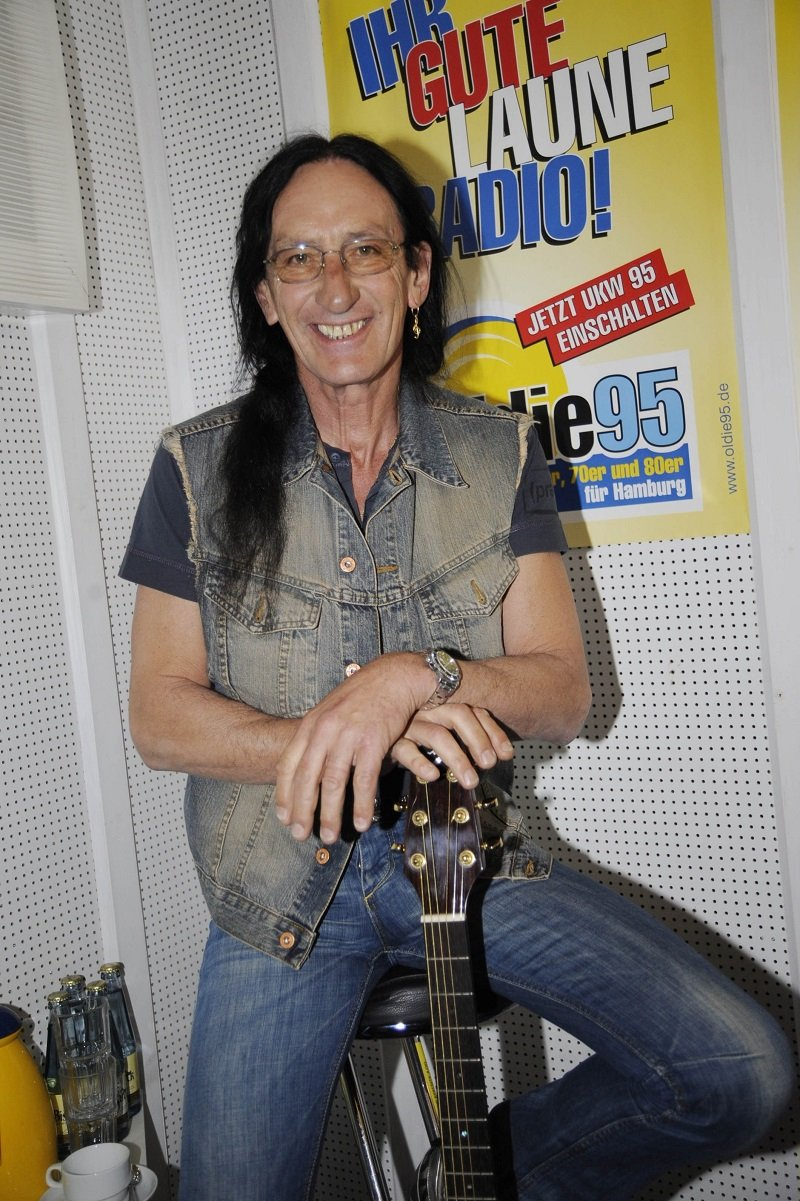 Ken Hensley in Germany on April 25, 2008 | Photo: Getty Images