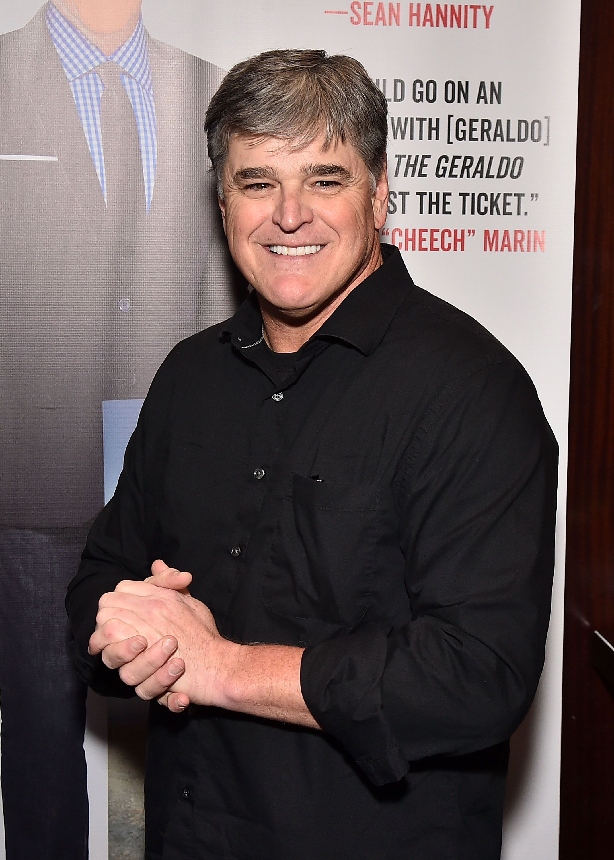 """Sean Hannity in attendance as Geraldo Rivera Launches His New Book """"The Geraldo Show: A Memoir"""" at Del Frisco's Grille on April 2, 2018 