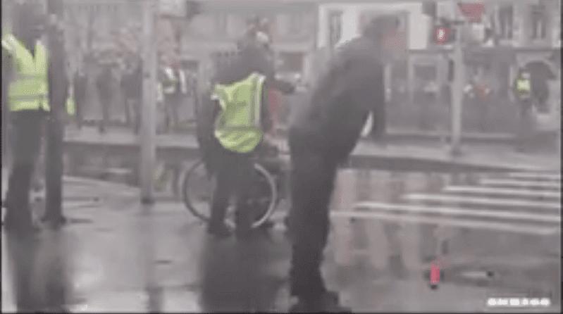 Violences Policières enregistrées en France lors de l'Acte XVII des Gilets Jaunes. | Facebook/Violences Policières France