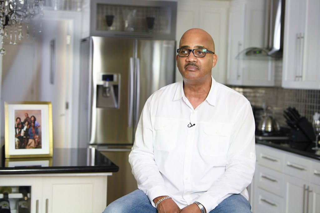 """John Henton at an interview for the """"Living Single"""" 25th Anniversary Special, July 2018   Source: Getty Images"""