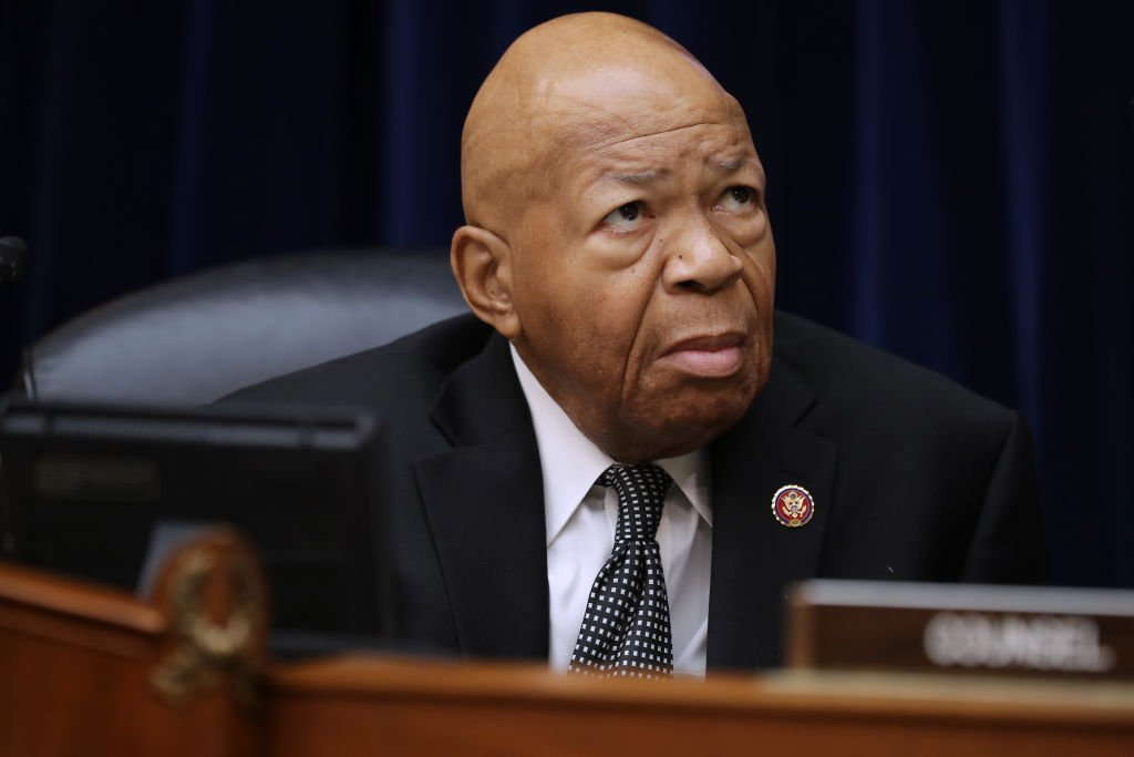 Congressman Elijah Cummings prepares for a hearing in the Rayburn House Office building on Capitol Hill. | Photo: Getty Images