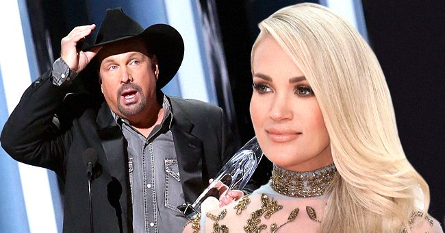 Carrie Underwood Fans Get Fired up after Garth Brooks Wins CMA Entertainer of the Year