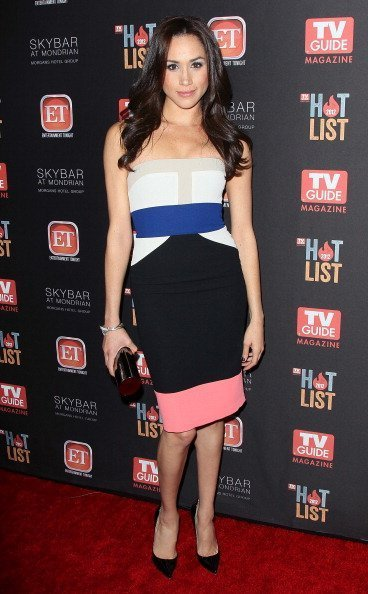 Meghan Markle attends TV Guide Magazine's 2012 Hot List Party on November 12, 2012, in West Hollywood, California. | Photo: Getty Images