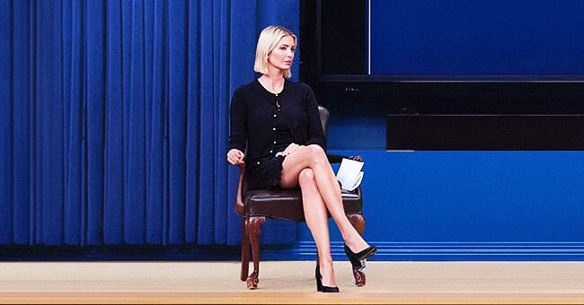 Ivanka Trump associe sa nouvelle coupe de cheveux à un look noir pour le Sommet de l'IA