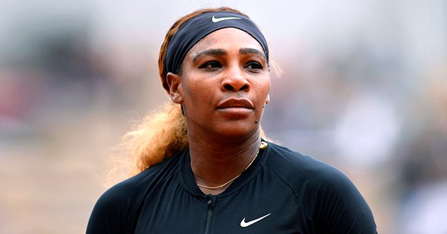 Serena Williams Flashes White Smile Flaunting Toned Figure in Black Top & Leather Pants (Video)