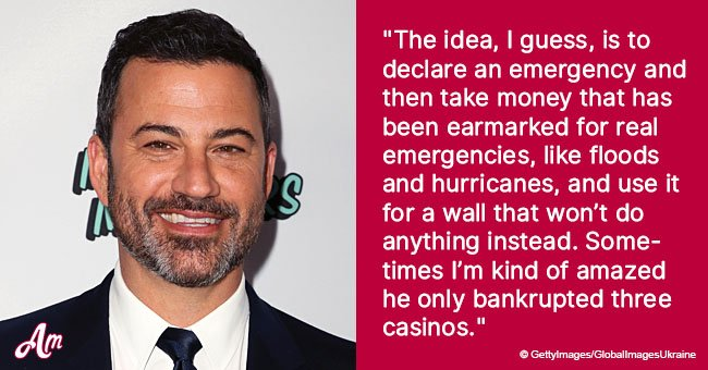 Jimmy Kimmel mocks President over national emergency threats