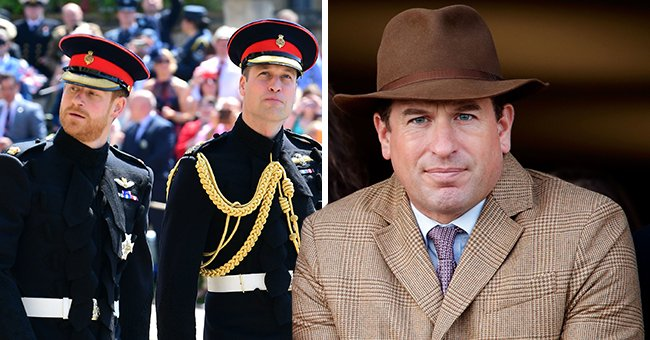 Meet William & Harry's Cousin Peter Phillips Who Will Walk Between Them at Prince Philip's Funeral