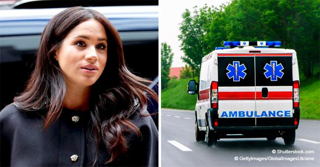 Meghan Markle est peut être en train d'accoucher, une ambulance repérée près de Frogmore