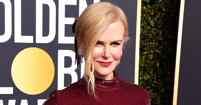 Nicole Kidman Smolders In a Chic Loose Shirt as She Posts Black-and-White Throwback Photo