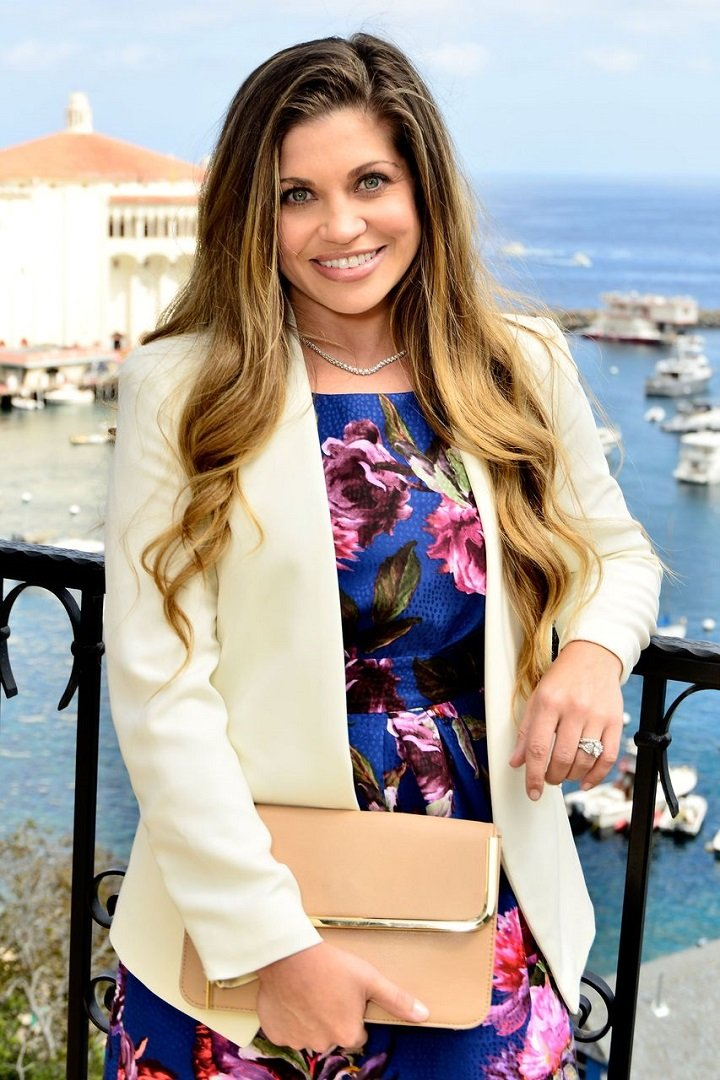 Danielle Fishel attending Catalina Film Festival's Annual Brunch in Catalina Island, California, in September 2014. | Image: Getty Images.