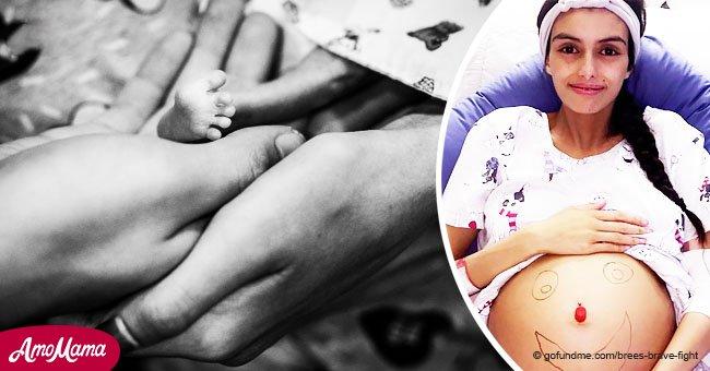 Mutter und Baby sterben, nachdem sie Krebsbehandlung aufschob, um sein Leben zu retten