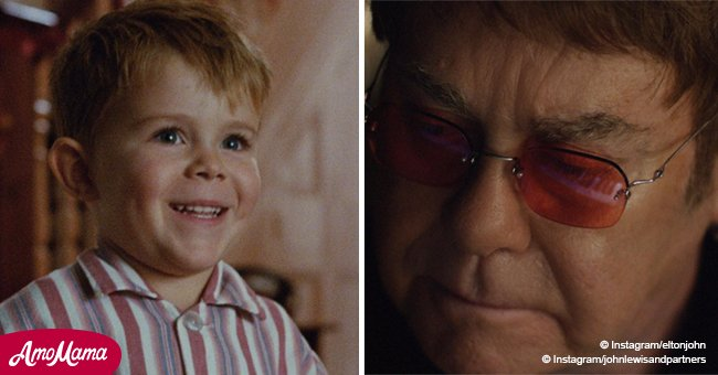 Elton John shares a tear-jerking story about the best Christmas gift of his life