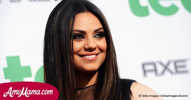 Mila Kunis shares a photo with new hair style and she's unrecognizable with it