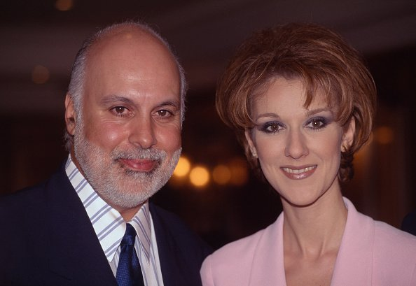 La chanteuse canadienne Céline Dion et son mari producteur René Angelil. | Photo : Getty Images