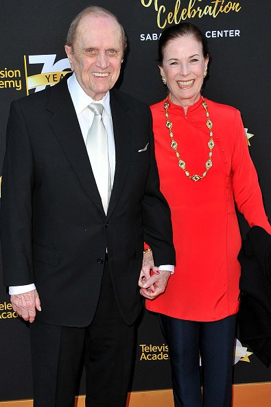 Bob Newhart and Ginny Newhart at the Television Academy's 70th Anniversary Gala on June 2, 2016 in Los Angeles, California. | Photo: Getty Images