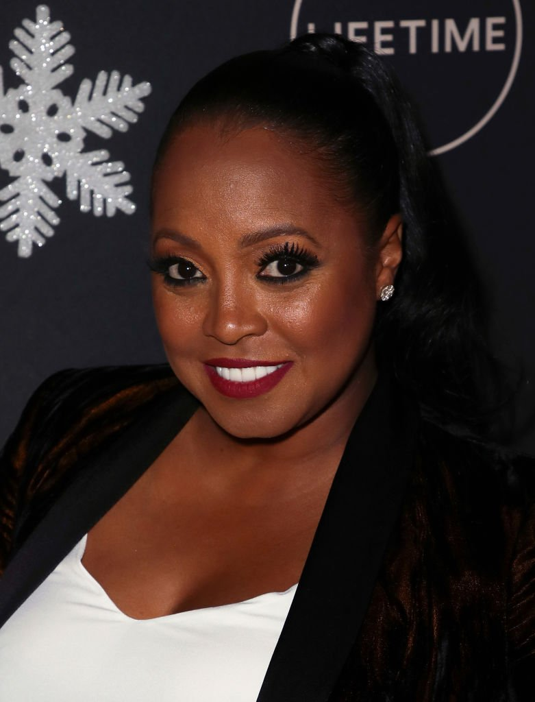 "Keshia Knight Pulliam attends the ""It's A Wonderful Lifetime"" Holiday Party at STK Los Angeles 