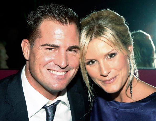 George Eads (L) and his fiancee Monika Casey attend the after party for the grand opening of the CSI: The Experience attraction at the Tabu Ultra Lounge at the MGM Grand Hotel/Casino September 12, 2009, in Las Vegas, Nevada. | Source: Getty Images.