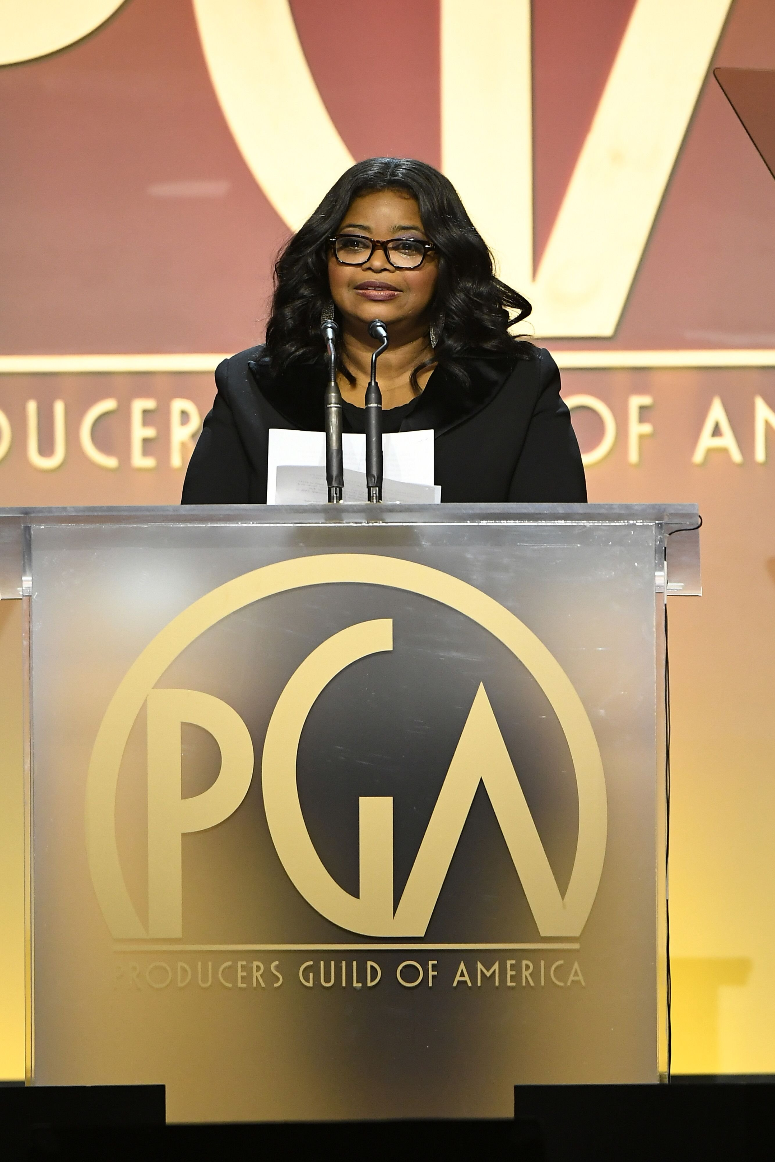 Actress Octavia Spencer at the 2020 Producers Guild Awards/ Source: Getty Images