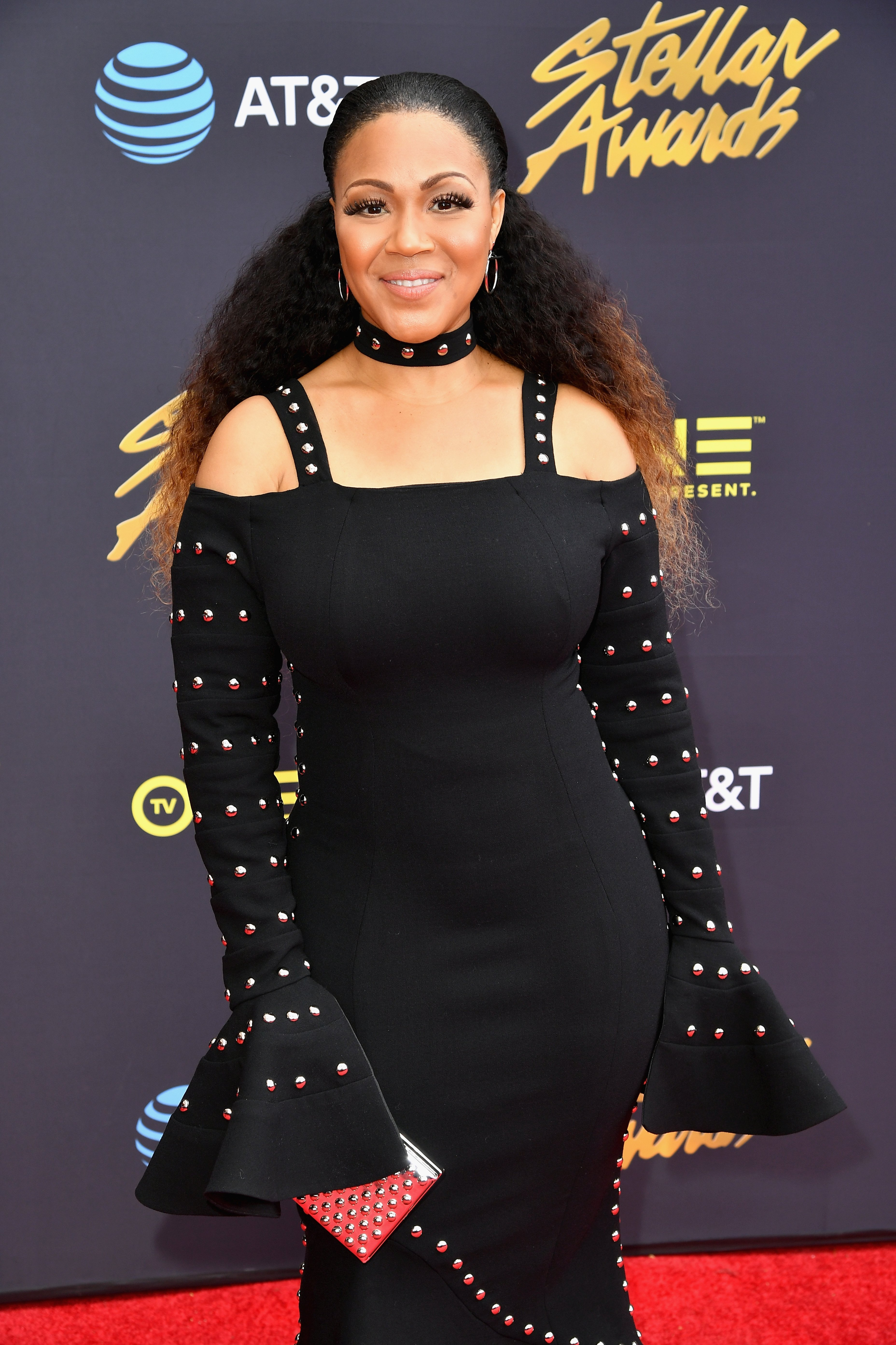 Erica Campbell at the Stellar Gospel Music Awards in Las Vegas, Nevada on Mar. 25, 2017   Photo: Getty Images