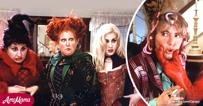 Flashback of Penny Marshall's 'Hocus Pocus' cameo scene you might not remember