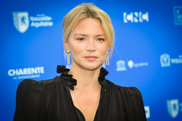 "L'actrice Virginie Efira assiste à la séance de photo ""Police"". 
