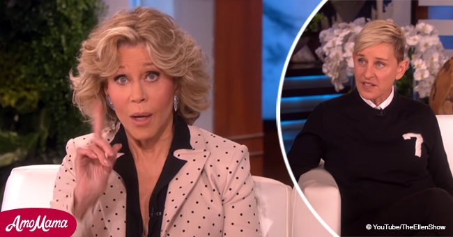 Jane Fonda mortifies Ellen Degeneres with her embarrassing mention of vibrators