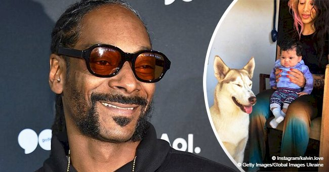Snoop Dogg's granddaughter steals hearts with her facial expressions in photos with mom & their dog