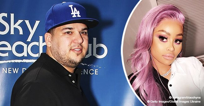 Rob Kardashian reportedly mad at Blac Chyna for leaving daughter behind to go on vacation