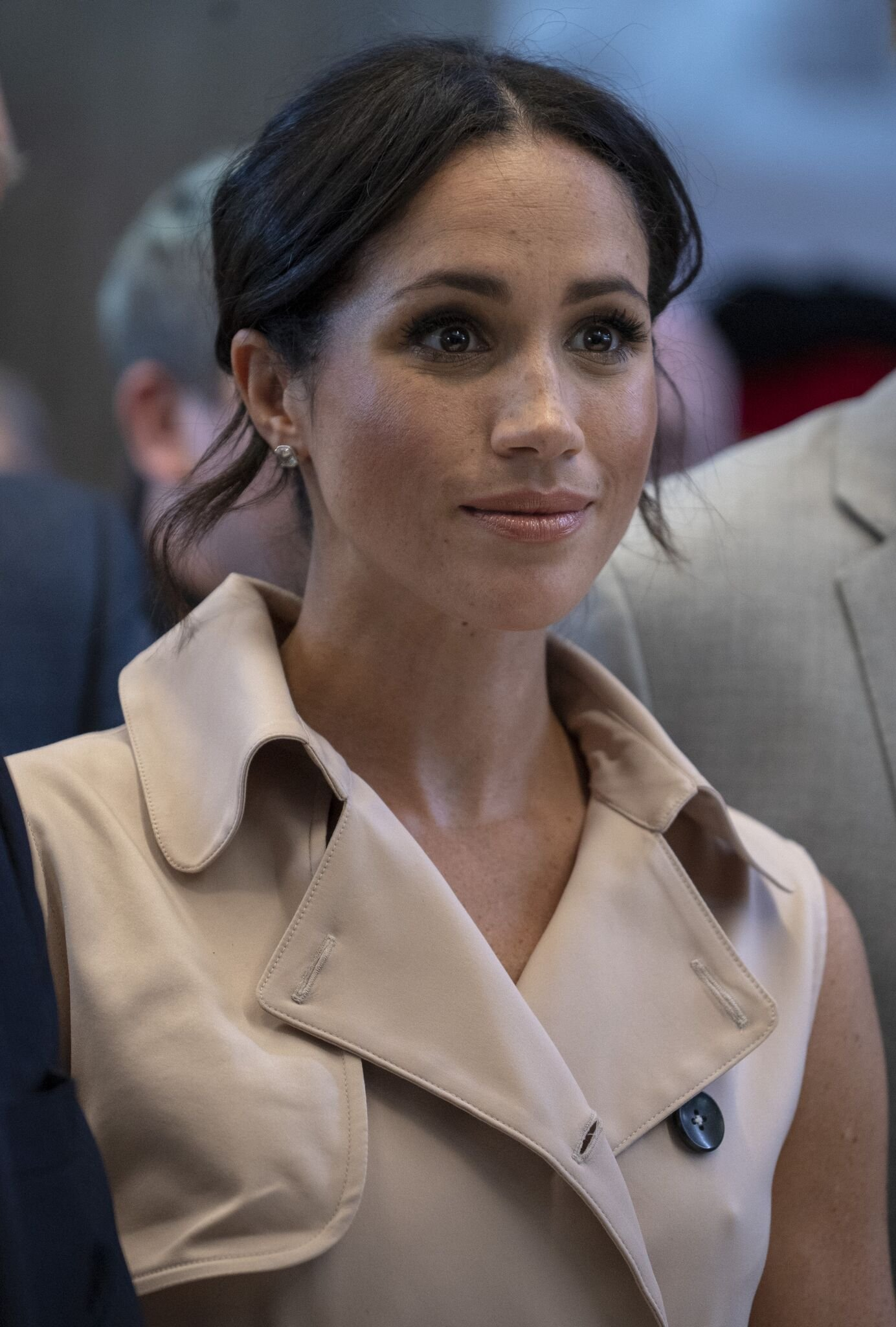 Meghan, Duchess of Sussex visits the Nelson Mandela Centenary Exhibition at Southbank Centre's Queen Elizabeth Hall on July 17, 2018 | Photo: Getty Images