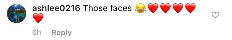 A fan's comment on Sara Haines' Instagram post | Photo: Instagram/sarahaines