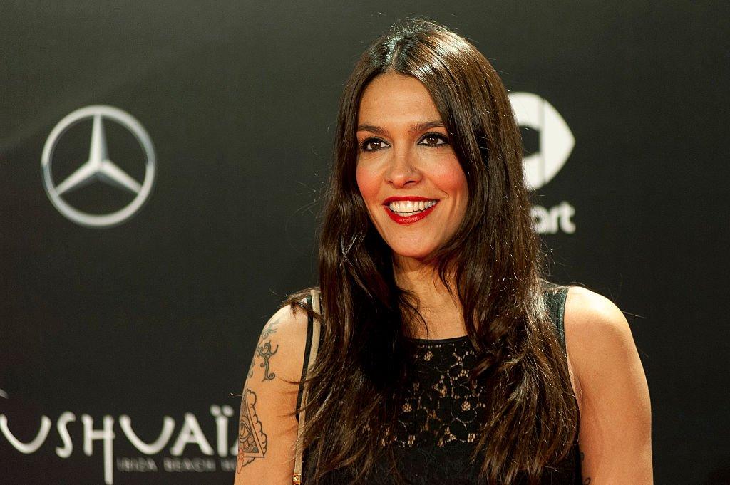 Lorena Castell en el Palacio Cibeles.  Fuente: Getty Images