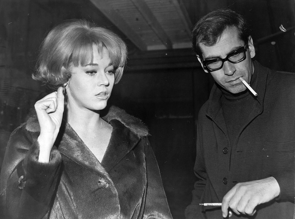 The American actress, Jane Fonda in Paris with her husband, director Roger Vadim | Getty Images