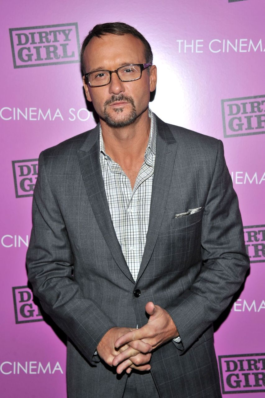 "Tim McGraw during The Cinema Society & The Weinstein Company screening of ""Dirty Girl"" at Landmark's Sunshine Cinema on October 3, 2011 in New York City. 