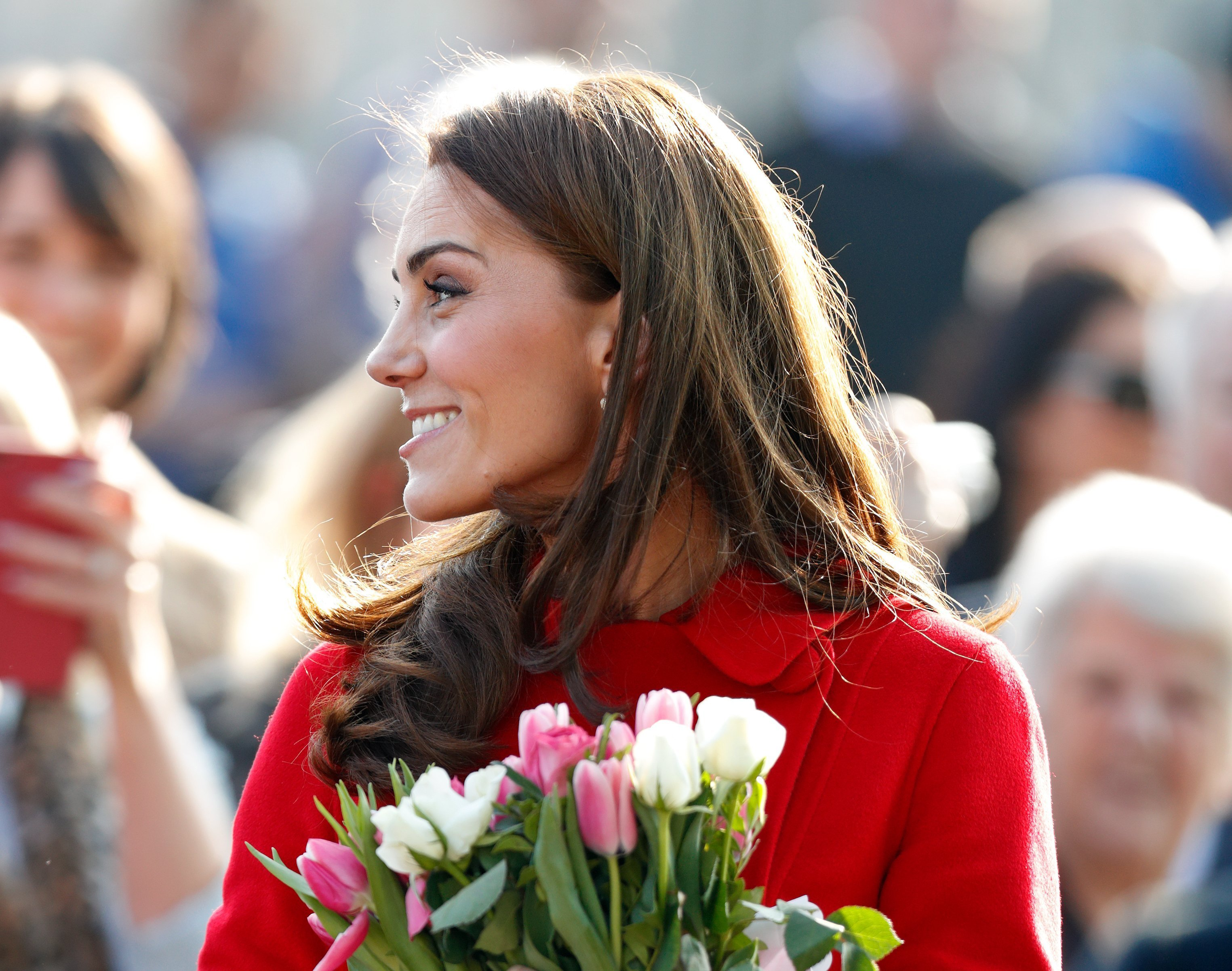 Kate Middleton arriving in Northern Ireland in February 2019 | Photo: Getty Images