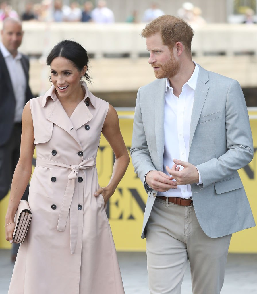 Meghan, Duchess of Sussex and Prince Harry, Duke of Sussex visit the Nelson Mandela Centenary Exhibition at Southbank Centre's Queen Elizabeth Hall on July 17, 2018 | Photo: Getty Images
