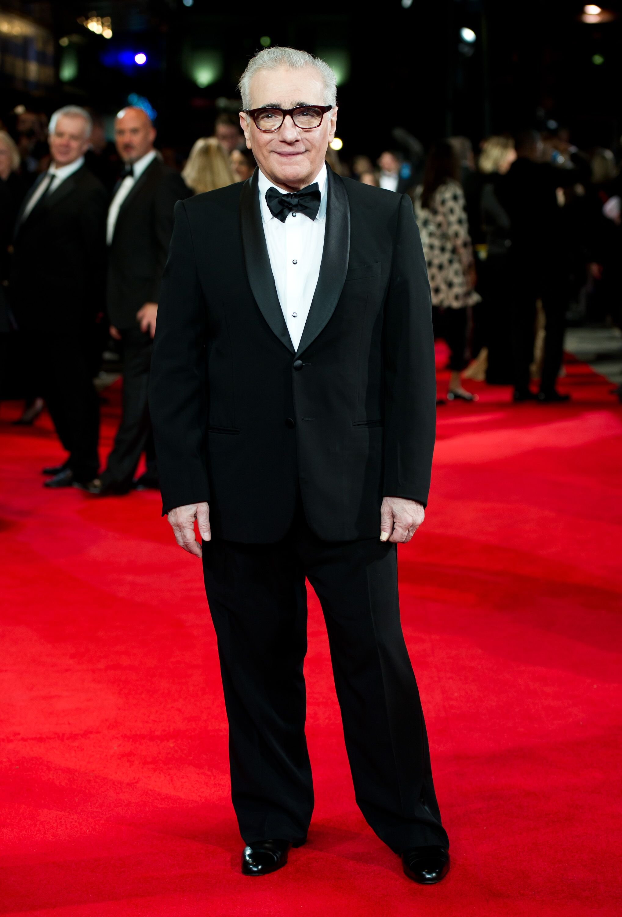 """Martin Scorsese attends The Royal film performance """"Hugo in 3D"""" at the Odeon Leicester Square. 