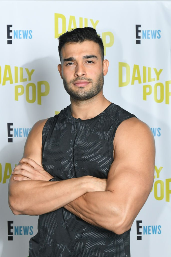 Celebrity Trainer Sam Asghari stops by to work out the Daily Pop team | Photo: Getty Images