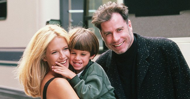 John & Ella Travolta Pay Touching Tribute to Kelly Preston on 1st Mother's Day since Her Death