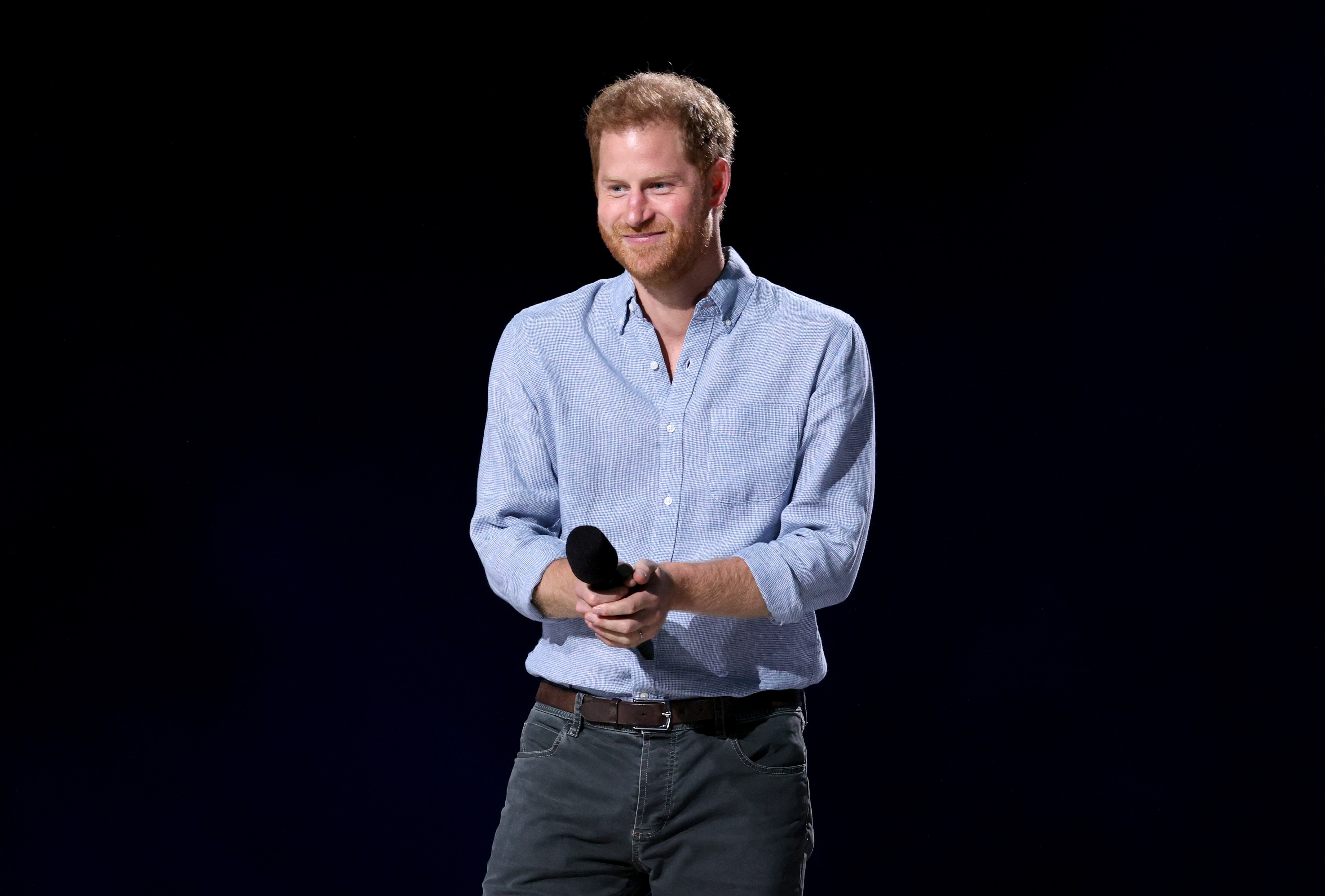 Prince Harry at the Global Citizen VAX LIVE: The Concert To Reunite The World will be broadcast on May 8, 2021.  Photo: Getty Images