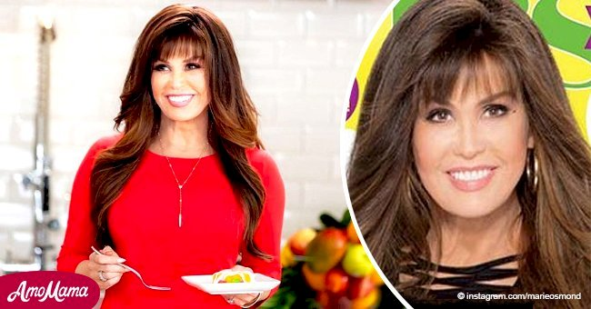 Marie Osmond flaunts slender figure on magazine cover revealing how she managed to lose 50lbs