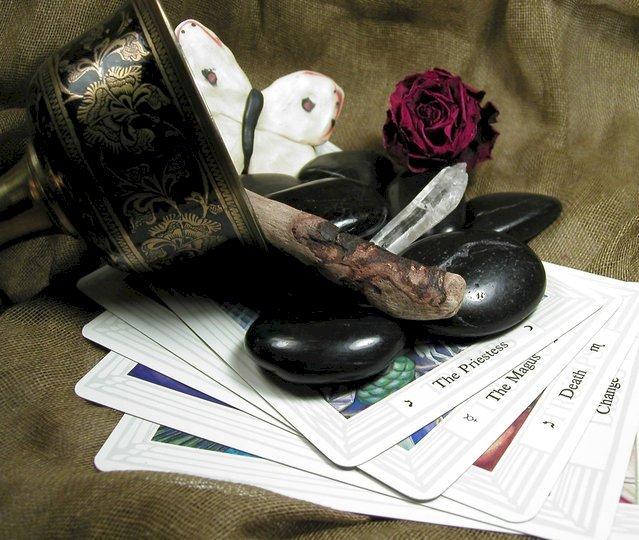 Cartas del Tarot. Fuente: Freepik