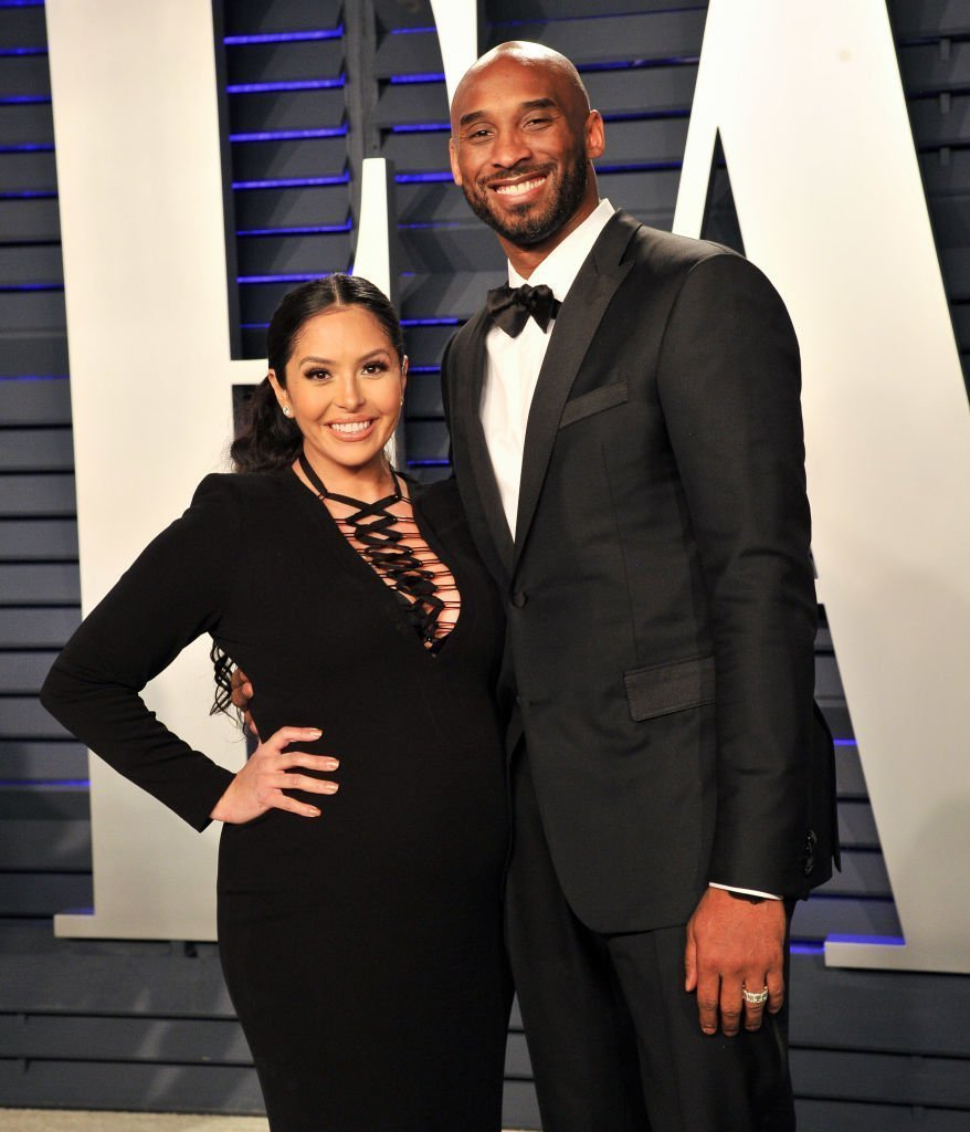 Kobe Bryant and Vanessa Bryant attend the 2019 Vanity Fair Oscar Party hosted by Radhika Jones at Wallis Annenberg Center for the Performing Arts | Photo: Getty Images