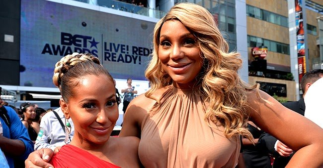 Tamar Braxton Appears to Reach out to 'Real' Co-Host Adrienne Bailon by Tagging Her in Post Years after Feud