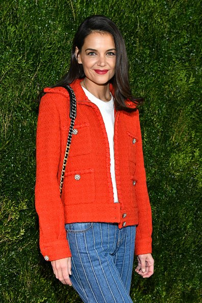 Katie Holmes at Locanda Verde on November 4, 2019 in New York City. | Photo: Getty Images